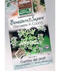 BUSTINA SEMI DI CUMINO GR 0,5 CARUM CARVI SFIZZIOSARIE IN CUCINA