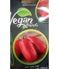 BUSTINA SEMI DI  POMODORO S.MARZANO  VEGAN FRIENDS LINEA COMMESTIBILE