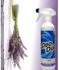 Deo Due Deodue Deodorante 500 ml Bifase  BLU LAVANDA   ChemiClean ELIMINA ODORI