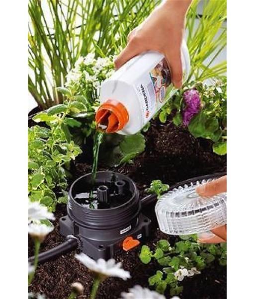 Fertirrigatore dosatore concime liquido gardena modello for Costo impianto irrigazione interrato