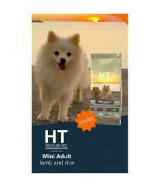 HT Dog Mini Adult LAMB E RISO  2 kg crocchette per cane ottima appetibilita'