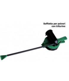Pompa Soffietto per Zolfo polveri PVC Con Triturino Da 1Kg polvere manuale vigna