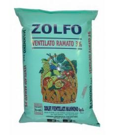ZOLFO IN POLVERE SCORREVOLE RAMATO   DA KG 25